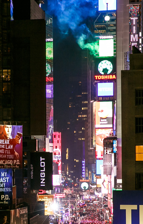 Supernova Ball Drop with direct view of the Ball Drop for all our guests in Times Square New York